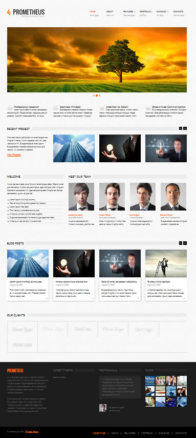 Flashmint Bootstrap theme
