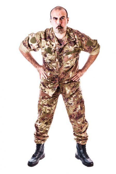 Shouty Sergeant Major