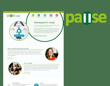 Pause website